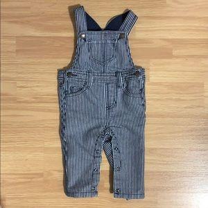 Cute Baby Striped Jean Overalls Coveralls